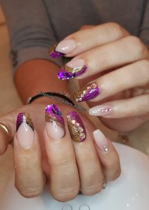 Beautiful Nails Sparkle
